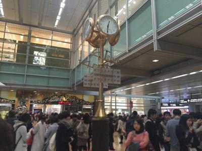 名古屋駅 待ち合わせのメッカ金時計