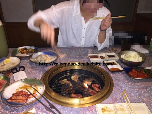 パパ活女子セフレと焼肉2
